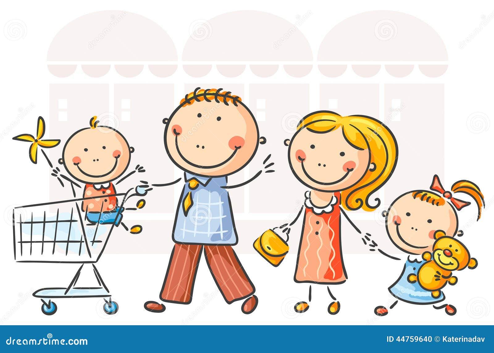 Rodzina tła występować samodzielnie w white na zakupy