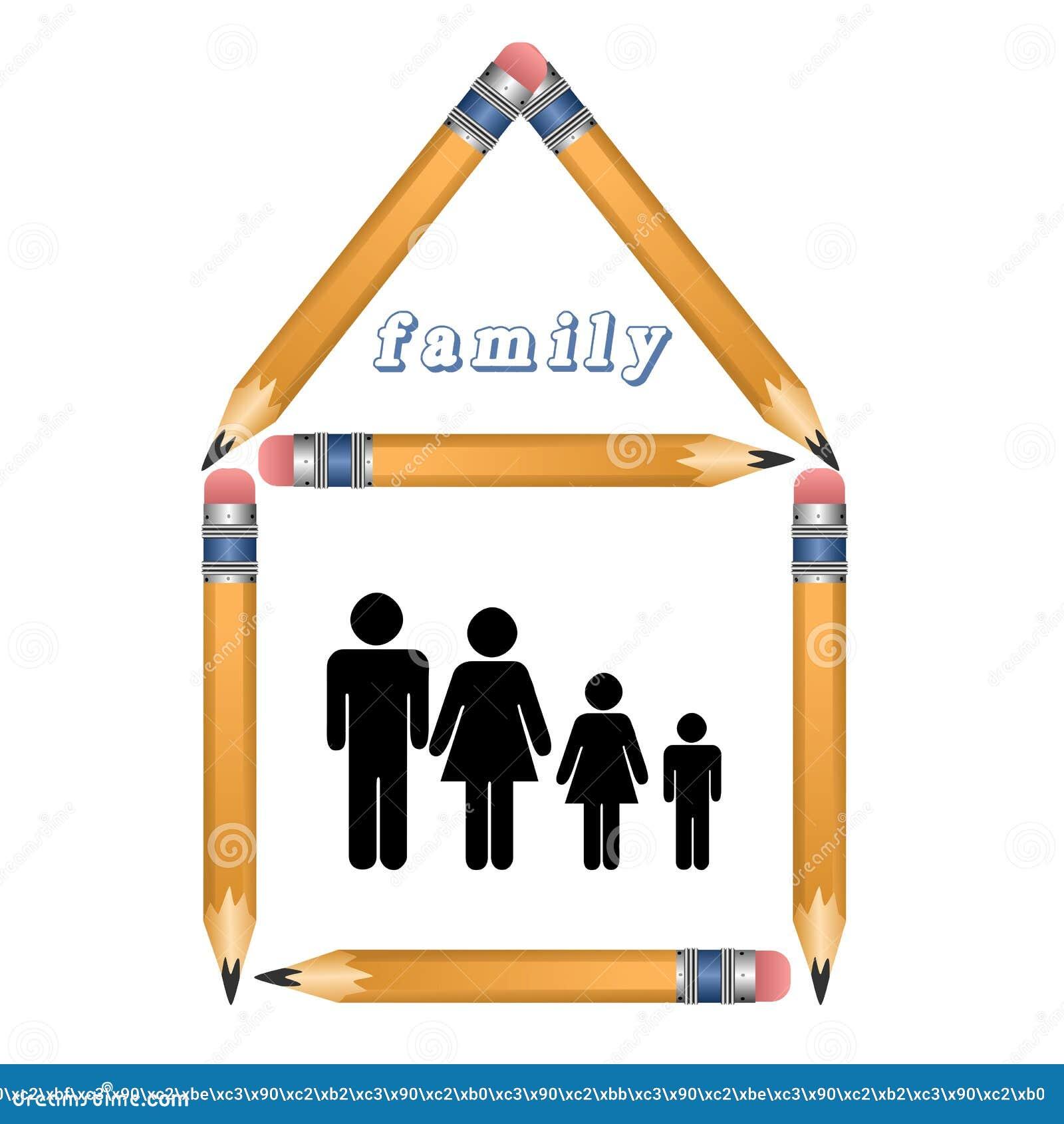 Download Rodzina w domu. zdjęcie stock. Obraz złożonej z mama - 37087330