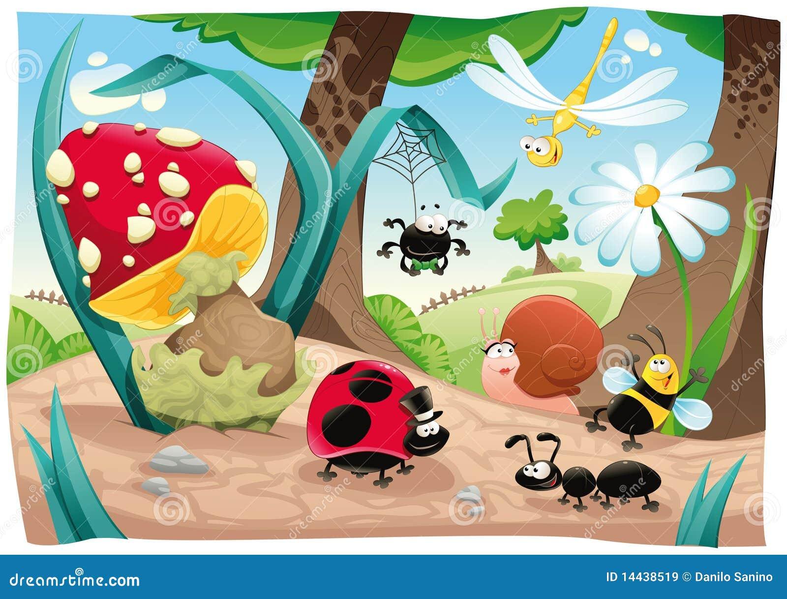 Rodzinni zmieloni insekty