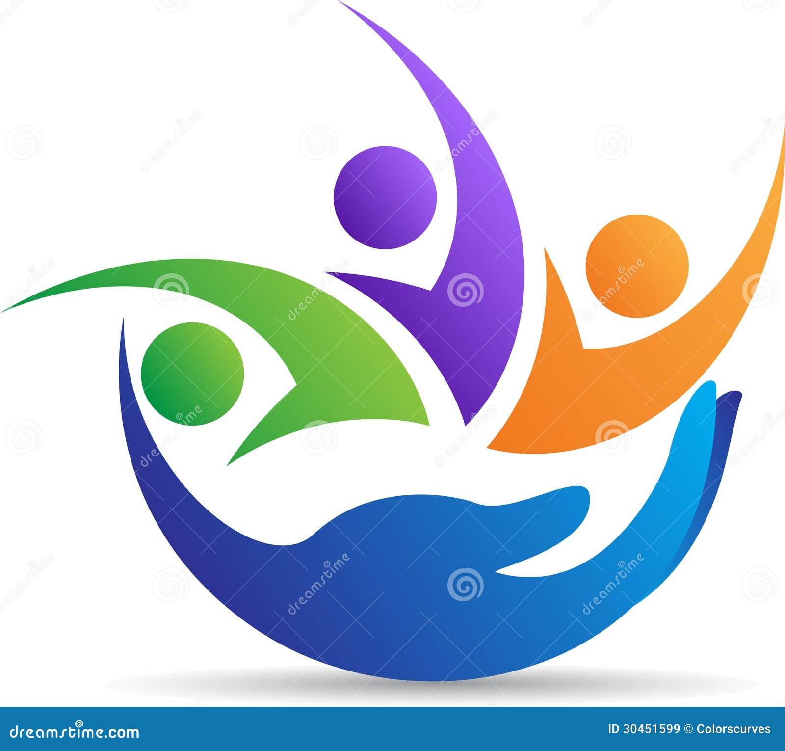 Rodzinny troskliwy logo