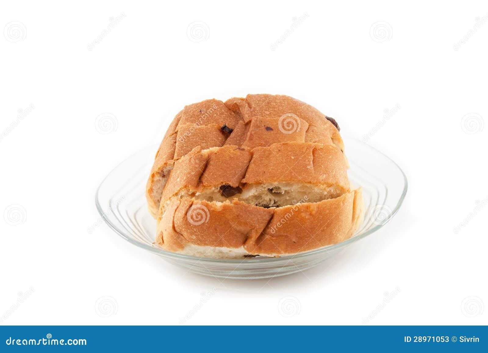 Rodzynka chleb.