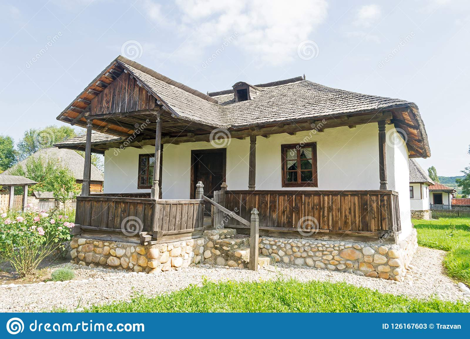 Roemeens traditioneel huis