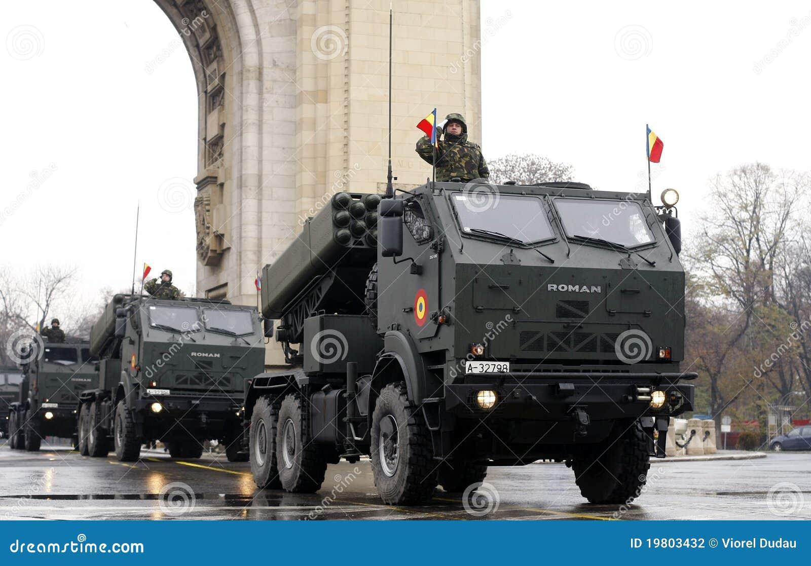 Roemeense legerparade