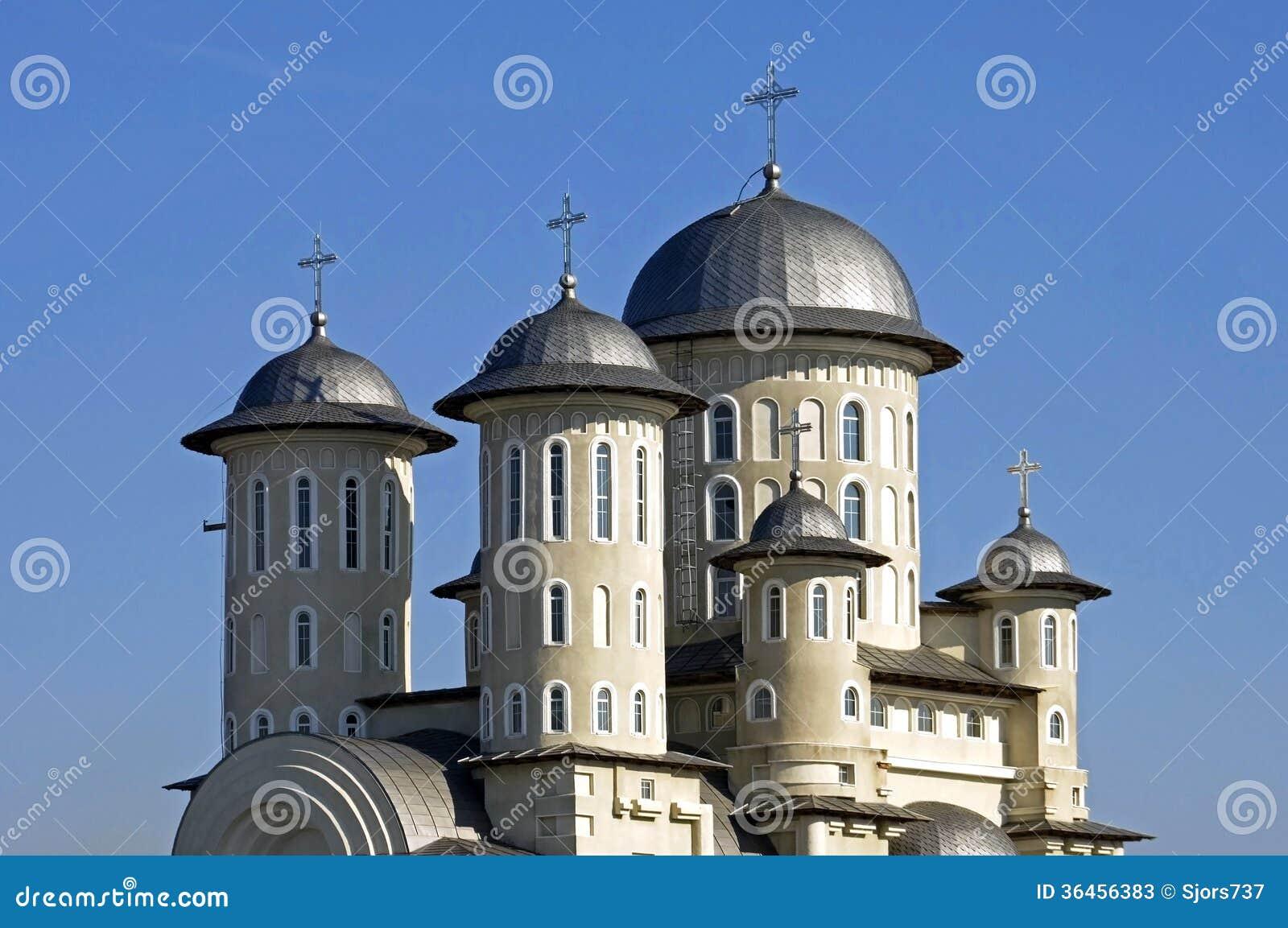 Roemeense Orthodoxe Kerk, stad Bacau, Roemenië