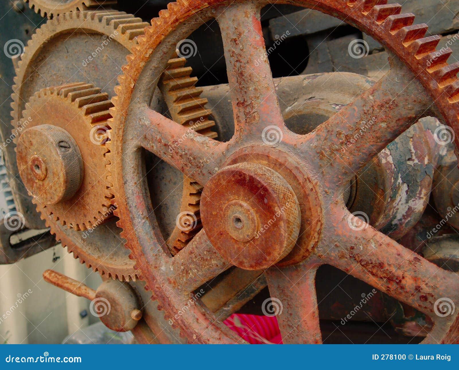 Roestige machines (v)