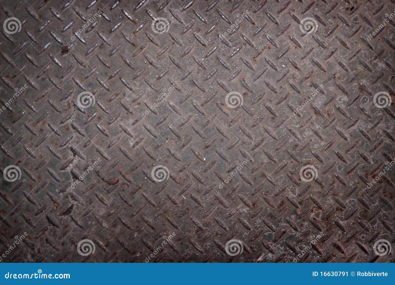 Roestige metaal industriële texturen