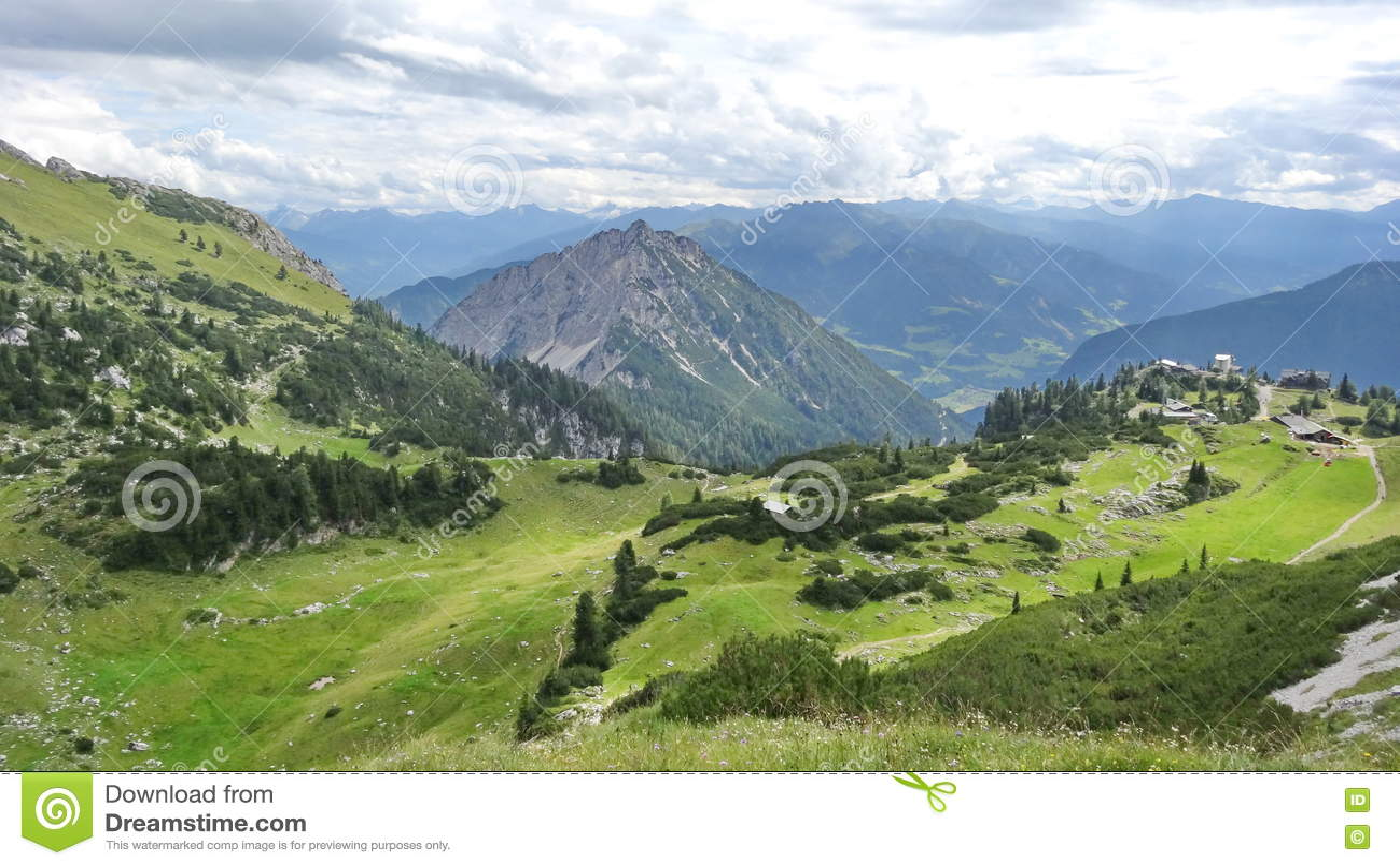Rofan, Achensee, Tirol Австрия