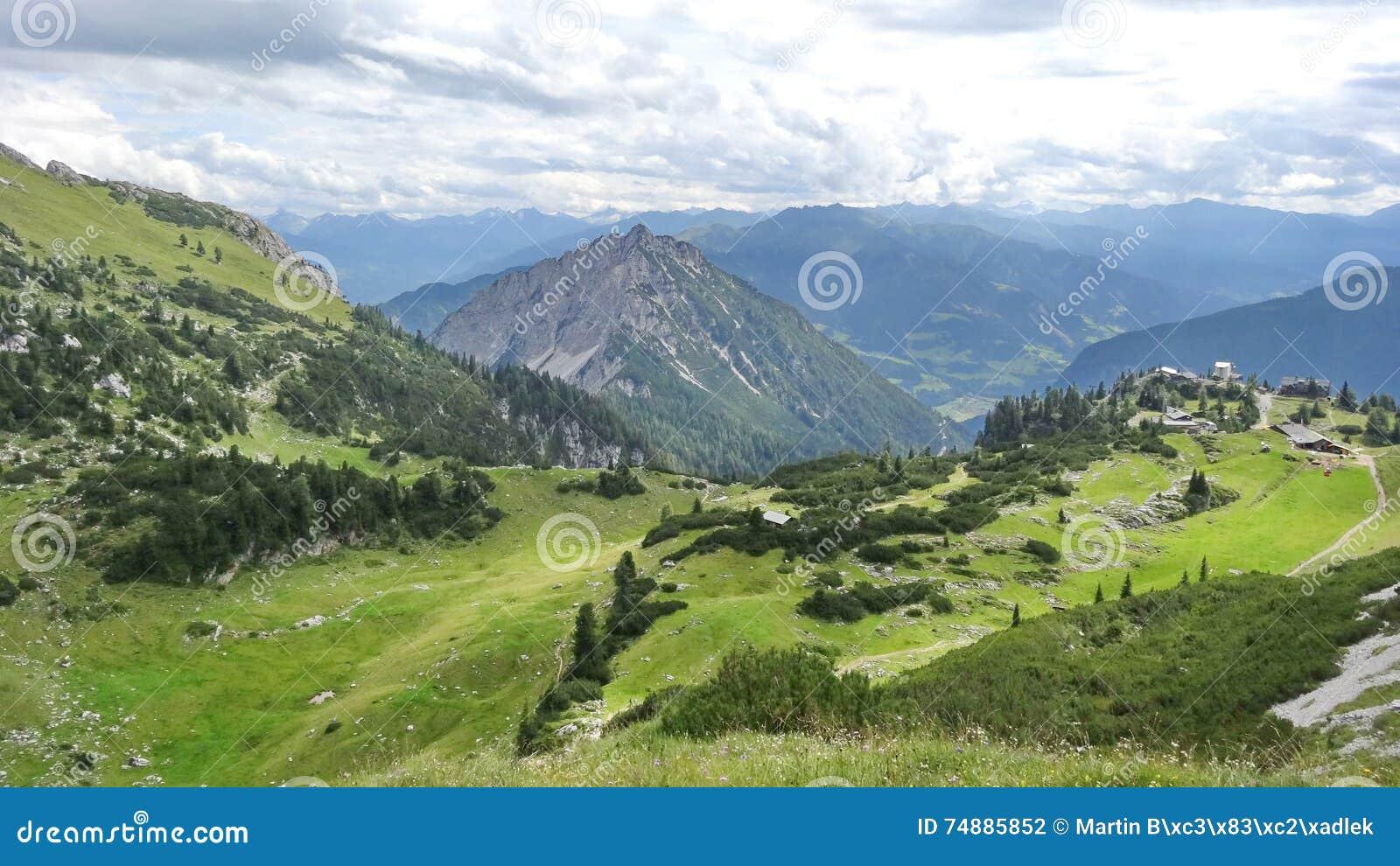 Rofan, Achensee, Tirol Oostenrijk