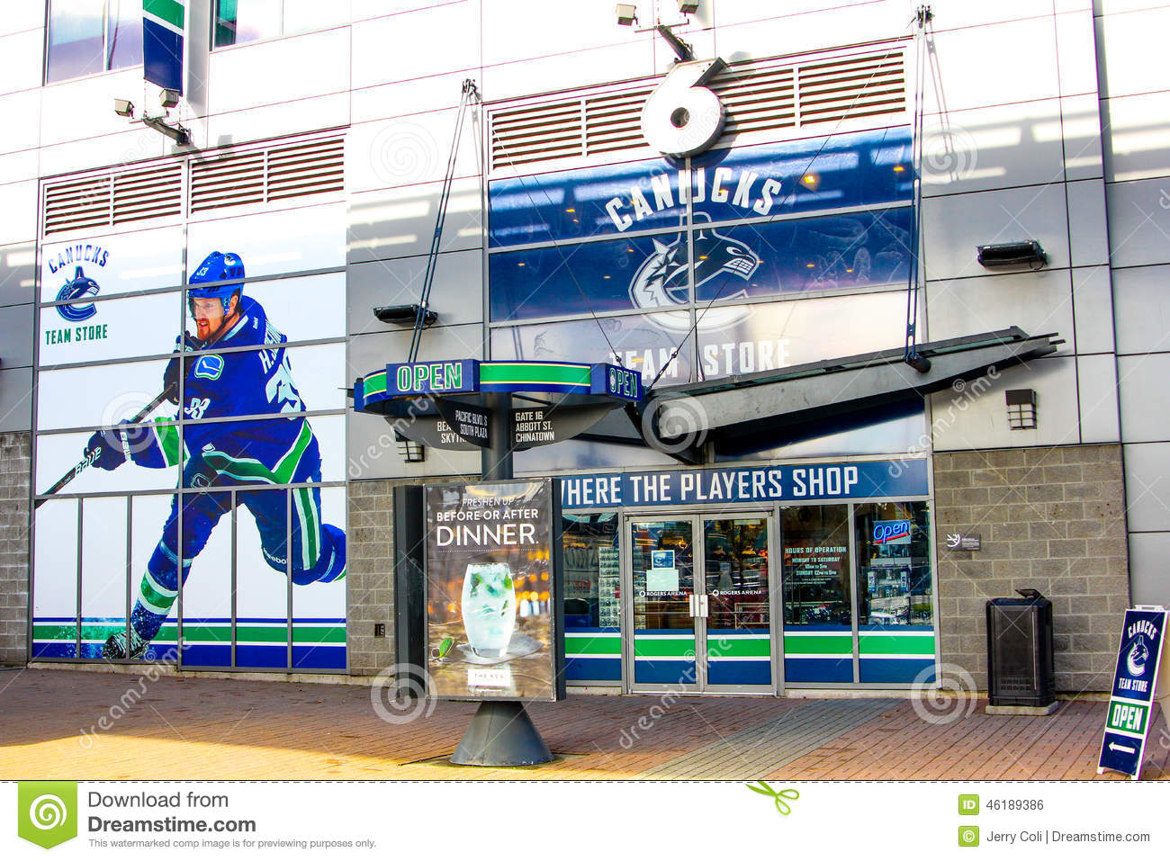 official photos d6727 b1eac Rogers Arena, Downtown Vancouver, British Columbia ...