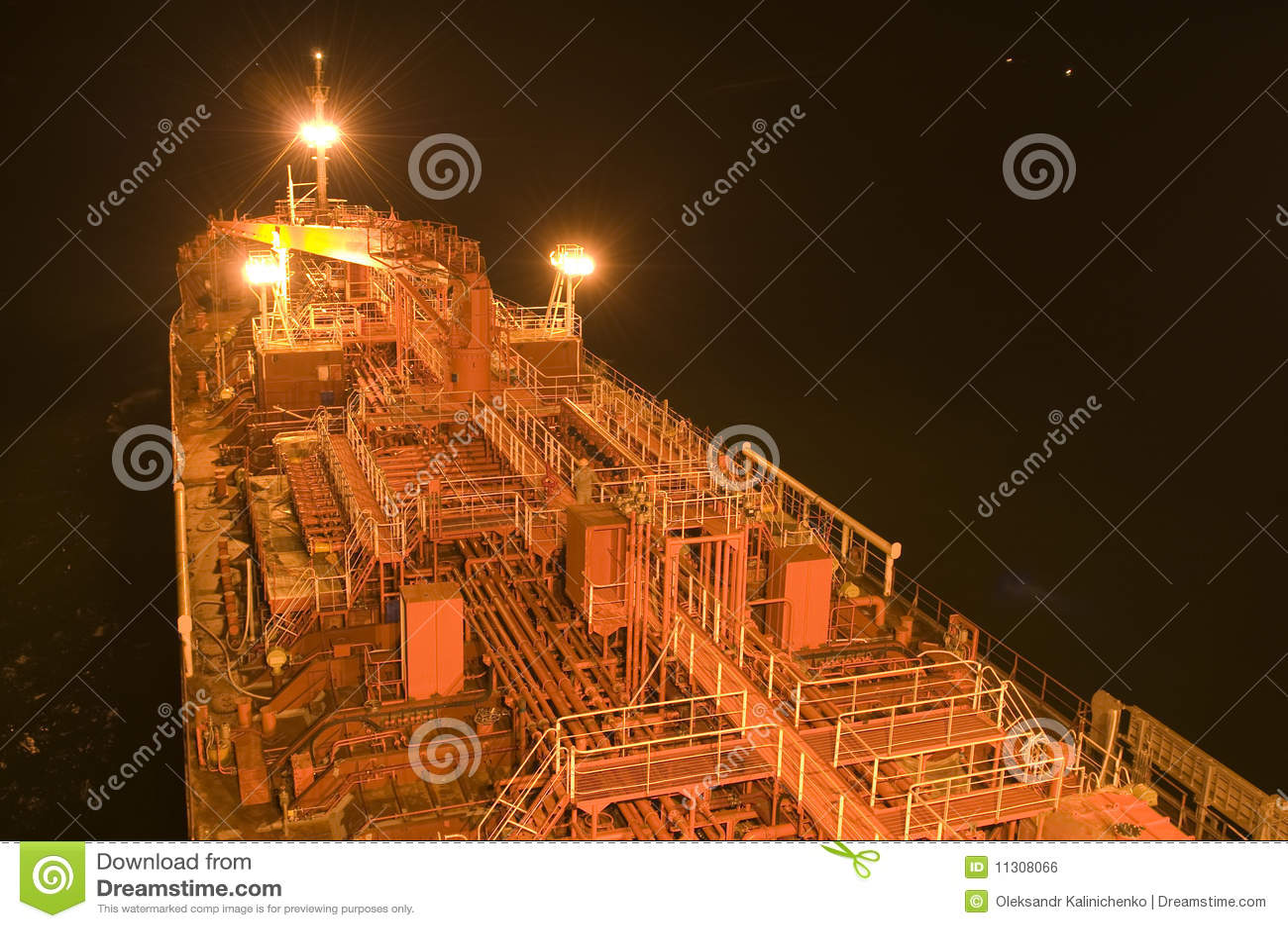 Rohöl-Trägerlieferung des Tankers