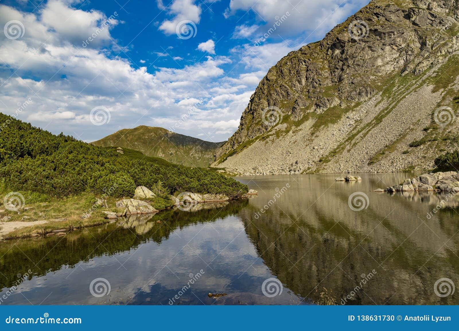 Rohace mountain lake. Slovakia
