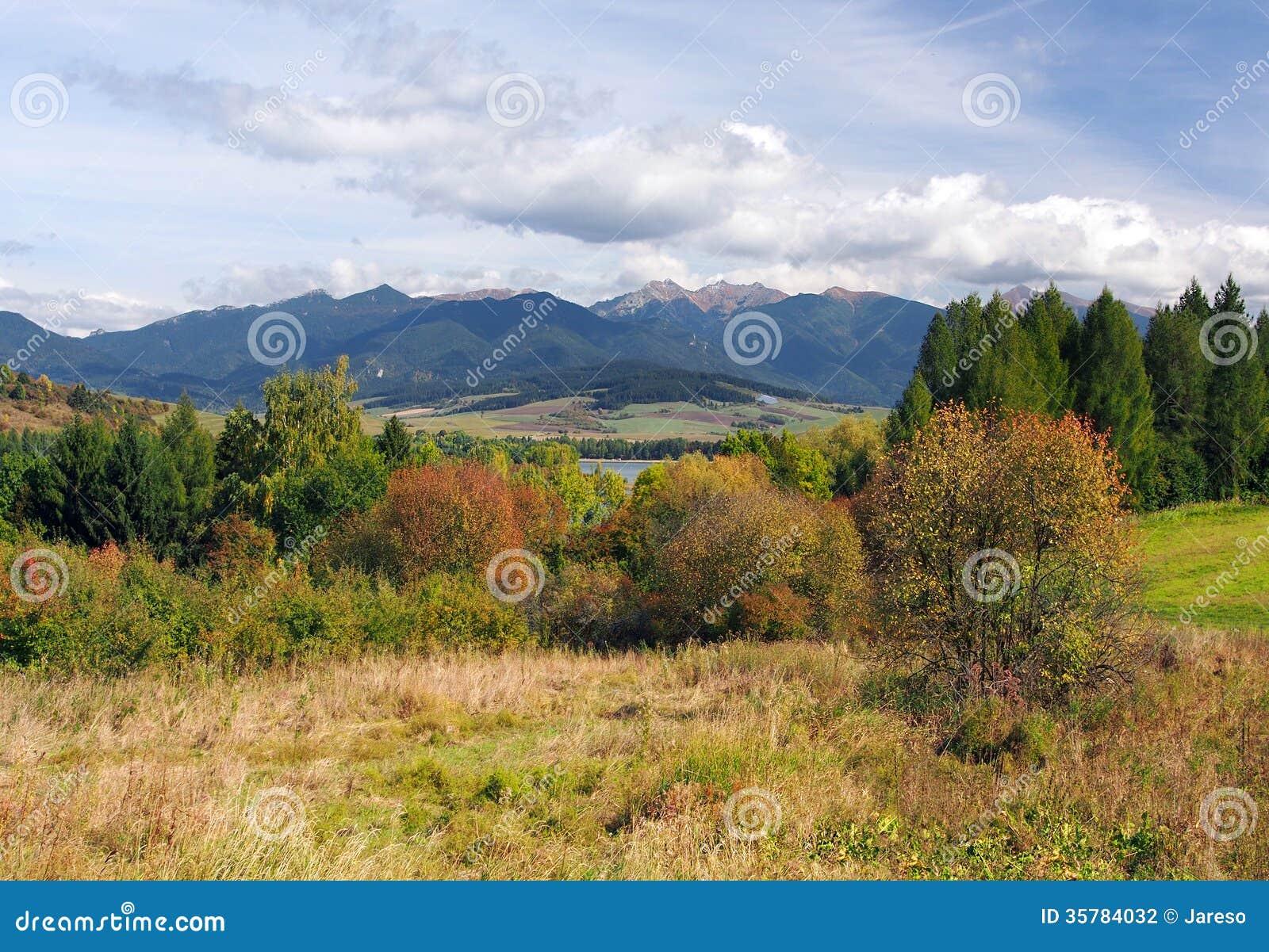 Rohace mountains in Liptov, Slovakia