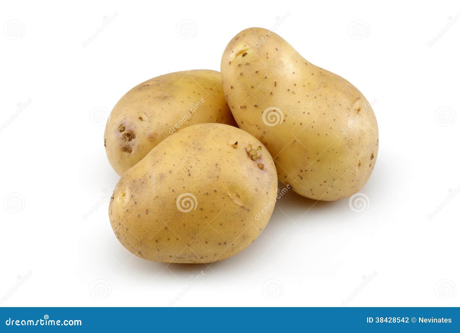 Rohe Kartoffel