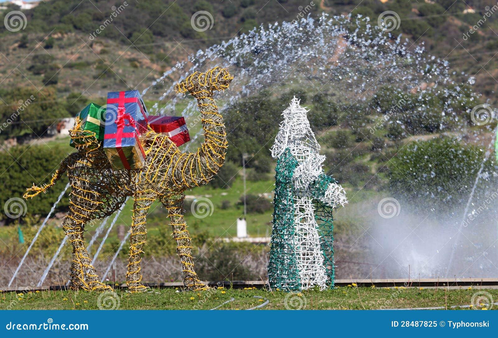 Roi Magique Decoration De Noel Espagne Image Stock Image Du
