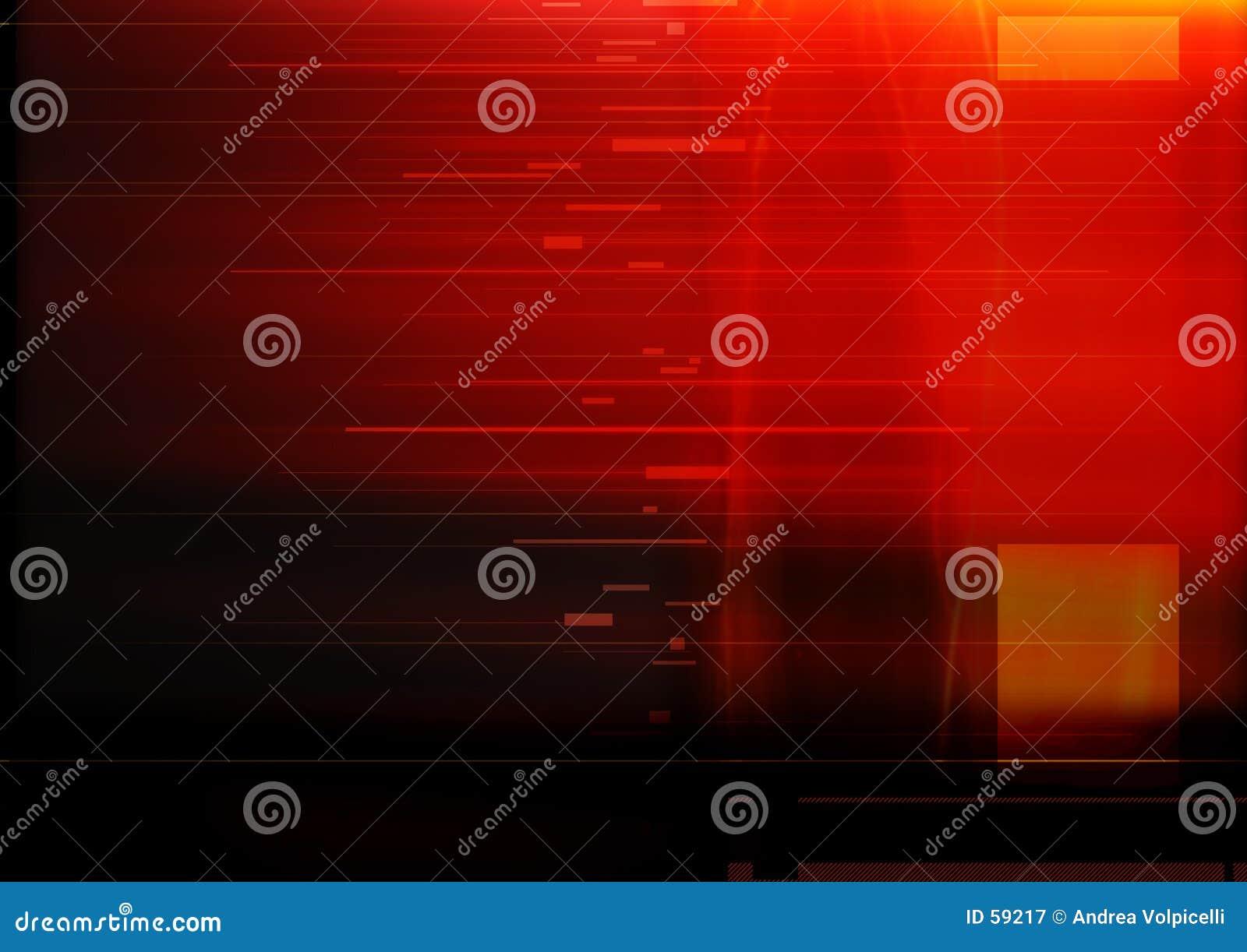 Rojo abstracto