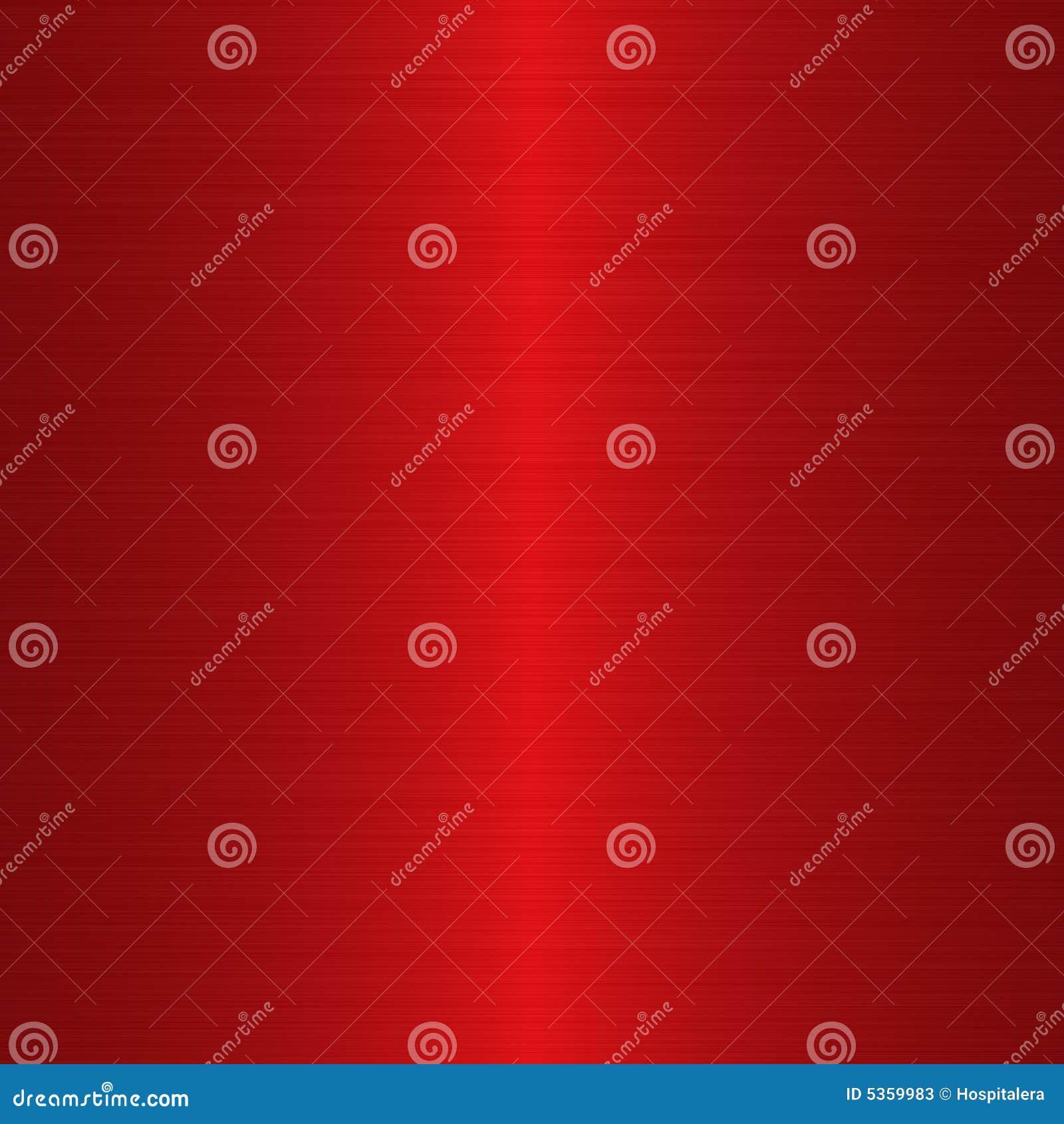 Rojo carmesí aplicado con brocha linear