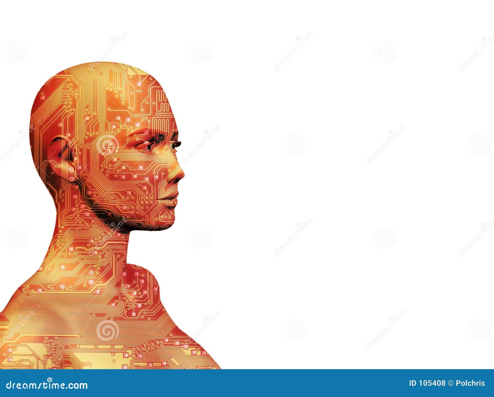 Rojo de la máquina humana