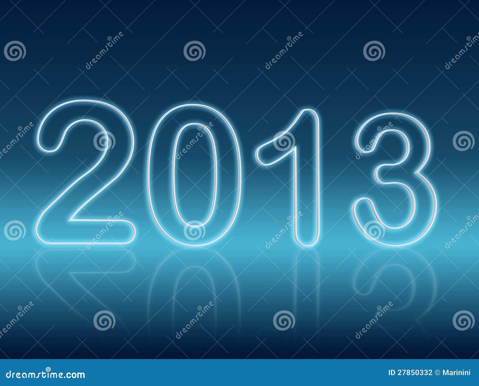 Rok w błękitny olśniewających postaciach 2013