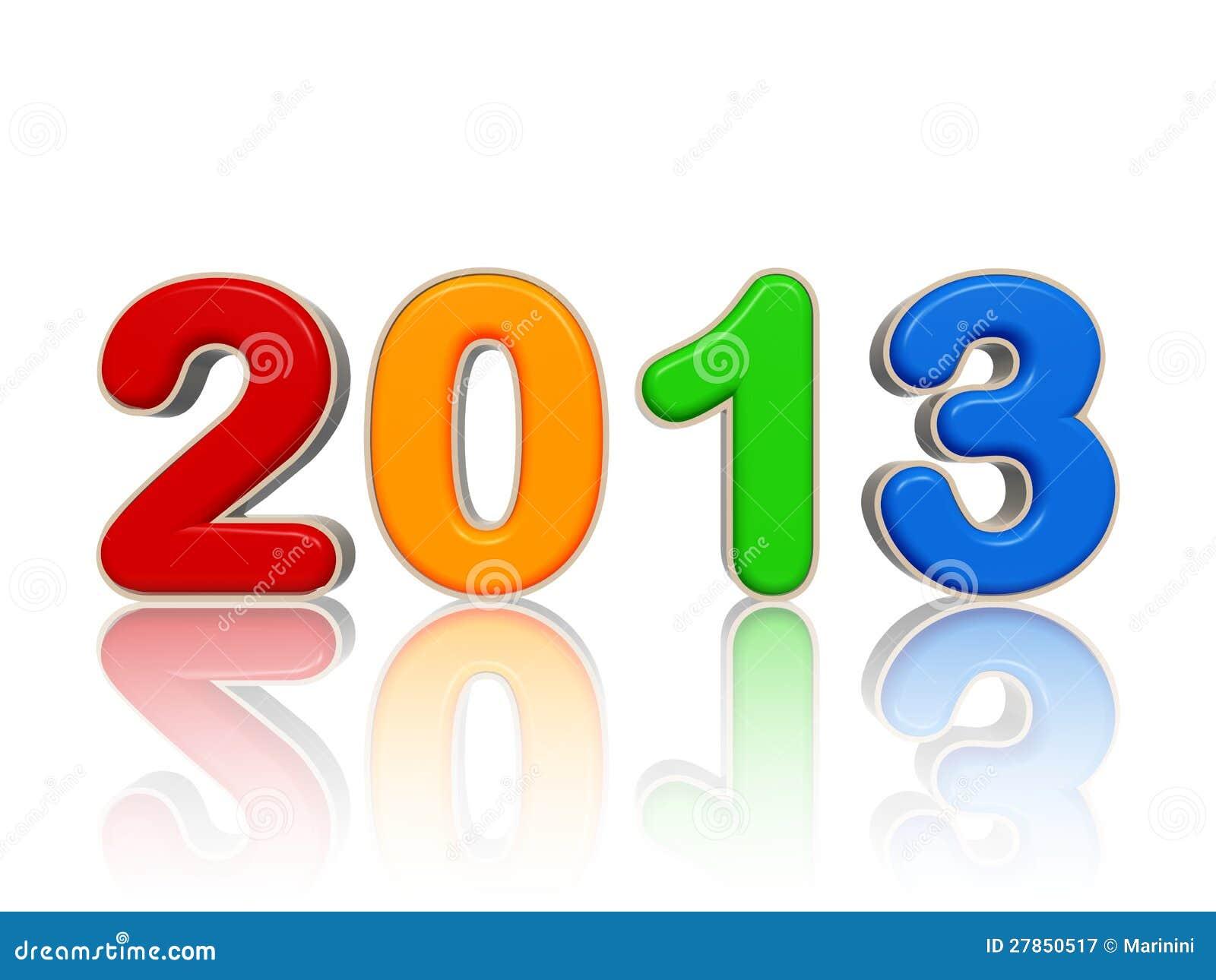 Rok w barwionych postaciach 2013