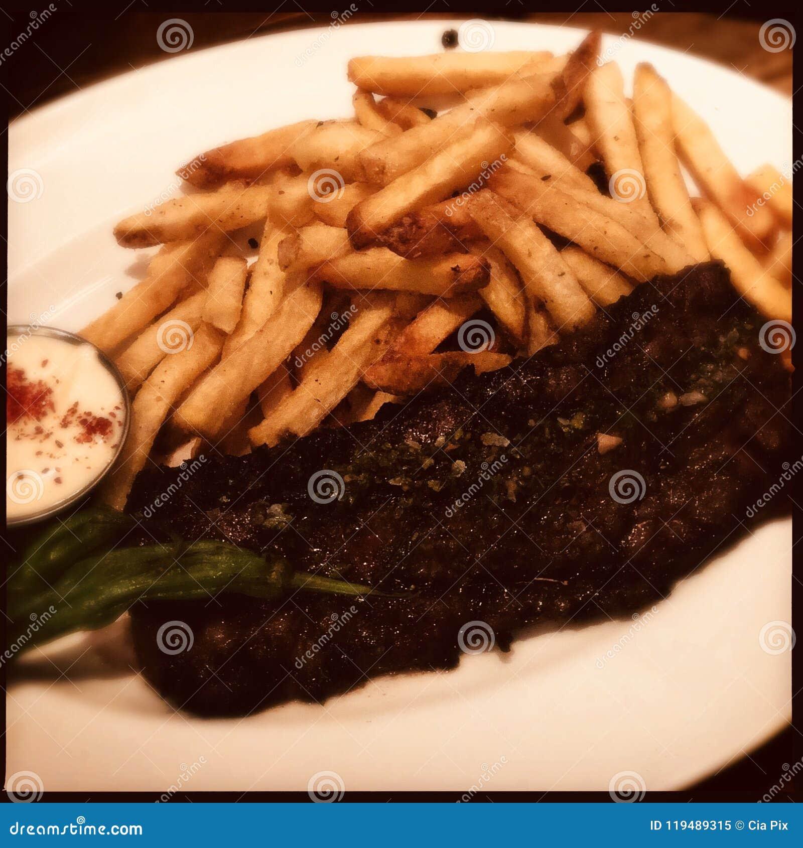Roklapje vlees met Gebraden gerechten