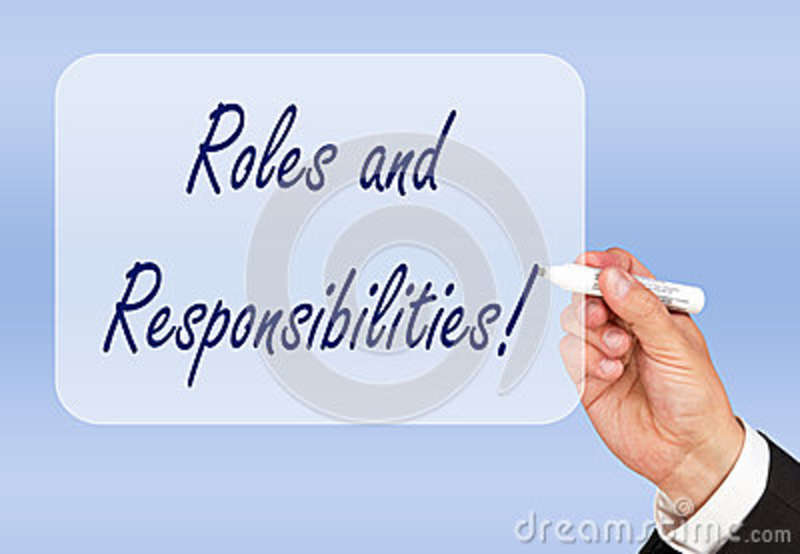 roles and responsibilities stock image image of pale mentor