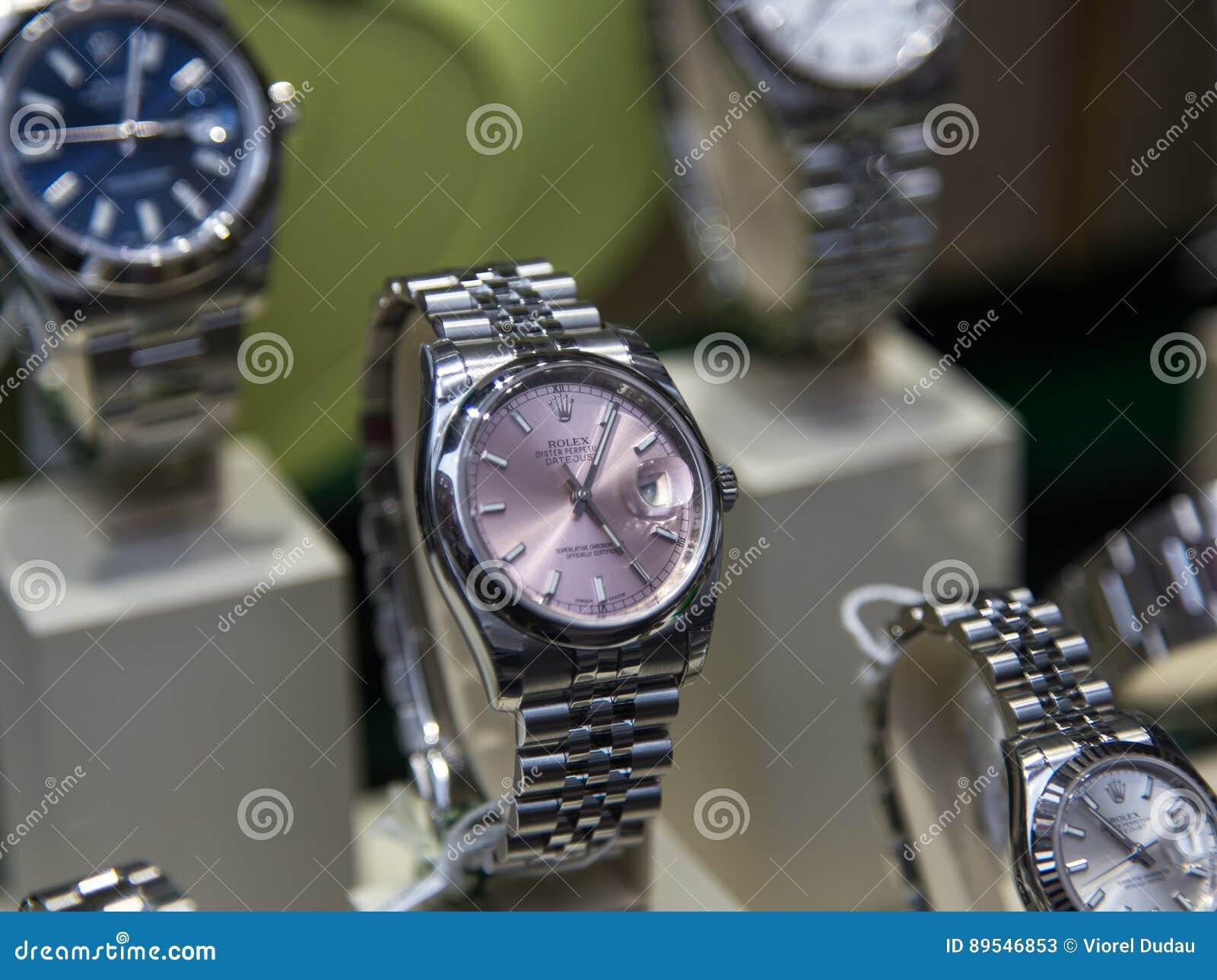 Rolex luksusowy zegarek