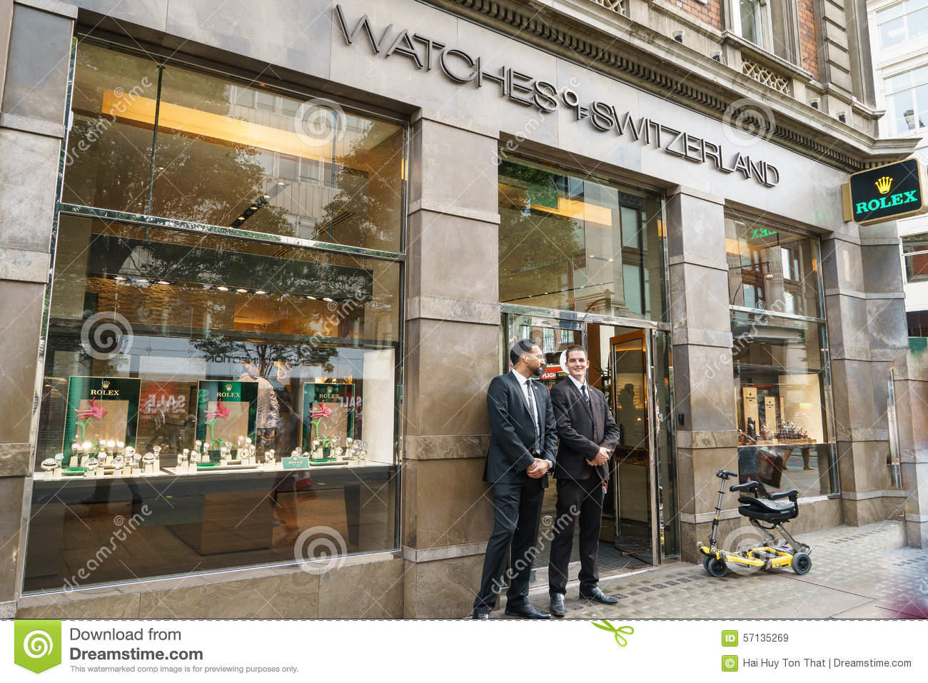 Rolex Store Editorial Stock Image Image Of Commercial