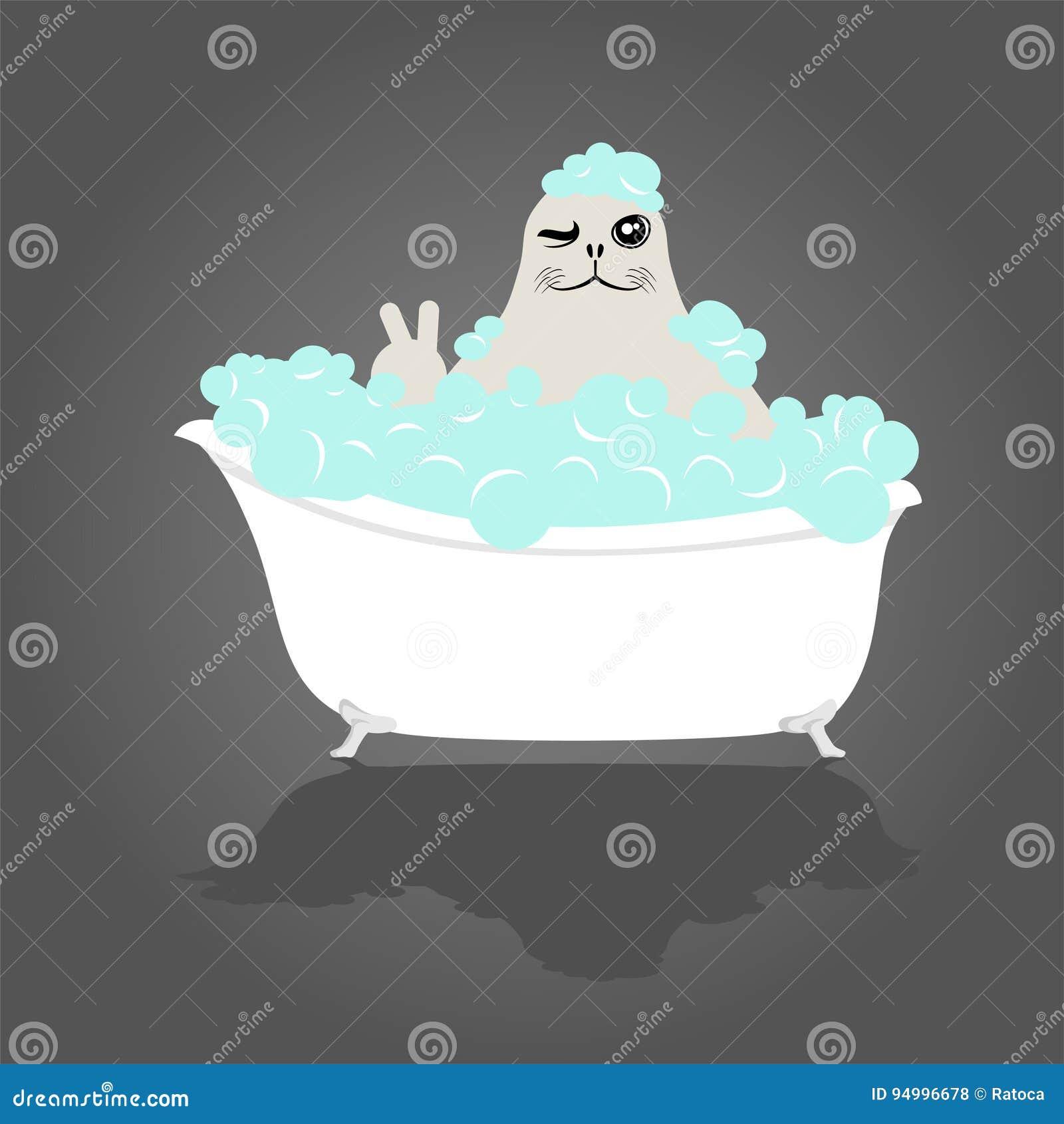 Rolig skyddsremsa i badkar