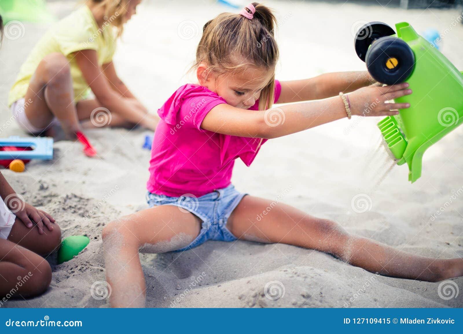 Rolig tid i sand