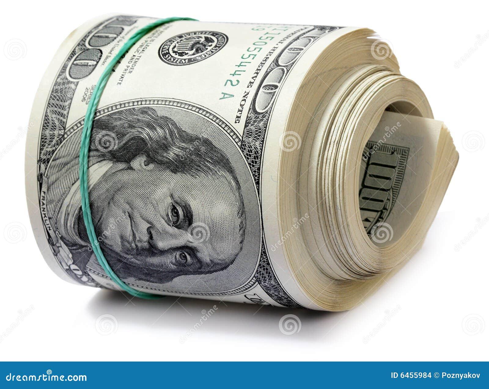Rolka dolarów.