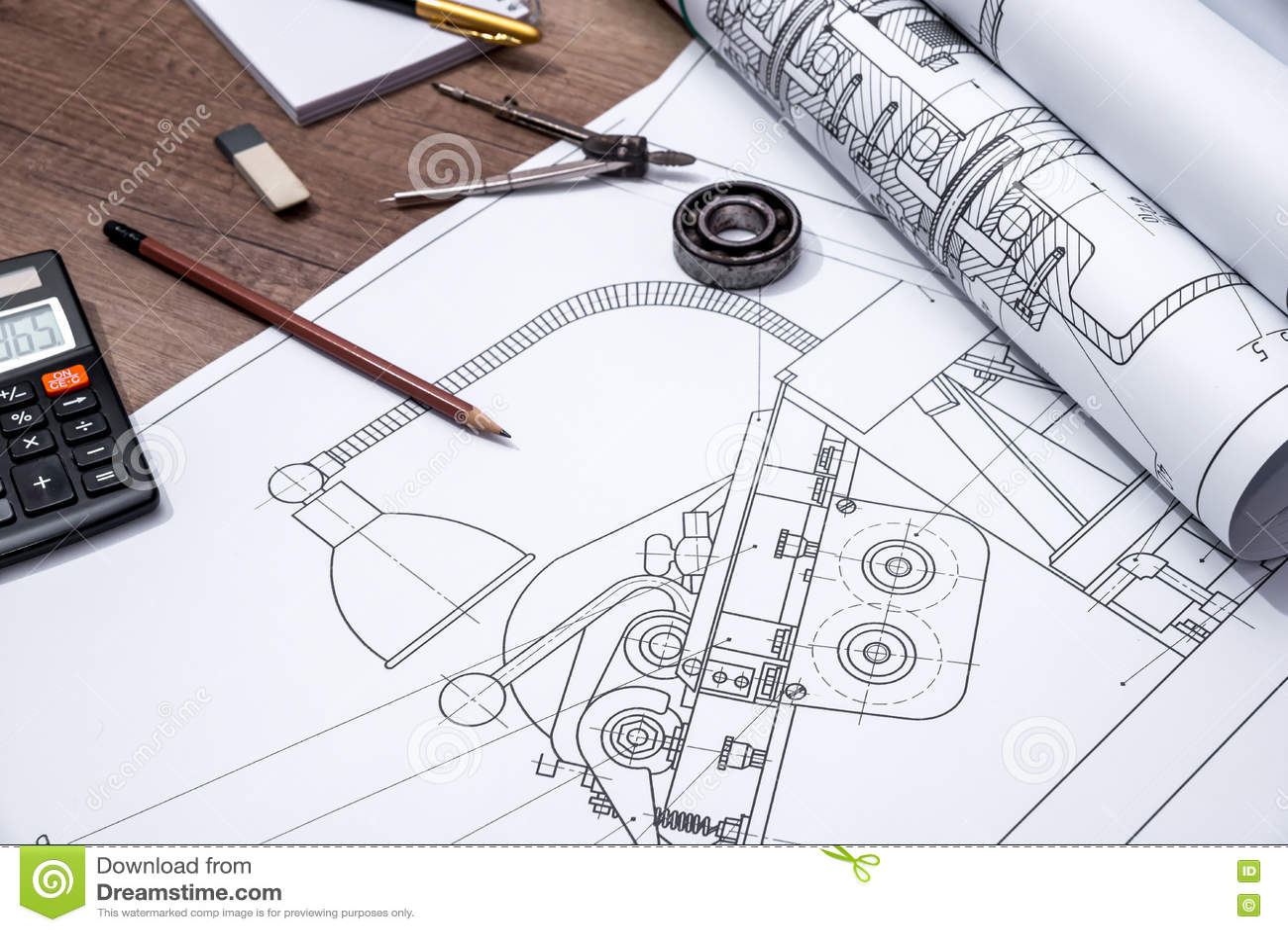 Rolka rysunków plany