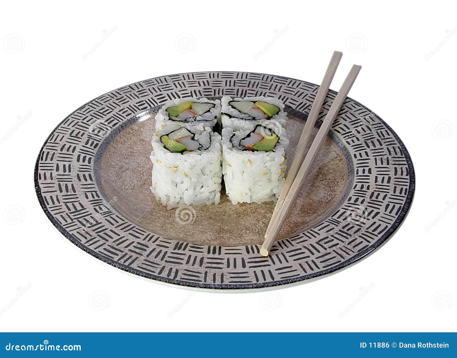 Rolki kalifornijskie sushi