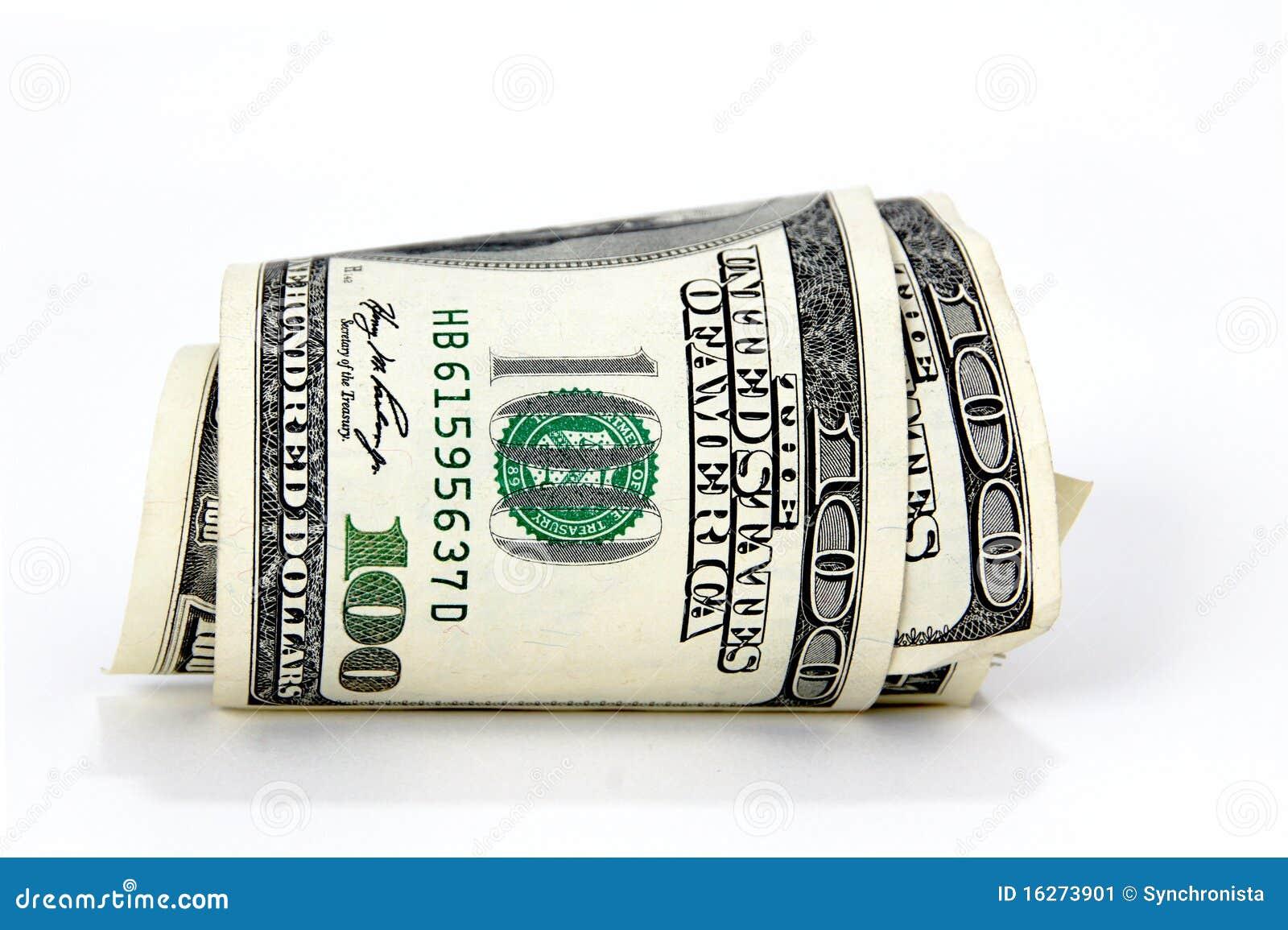 $100 Bill Clipart - photogram