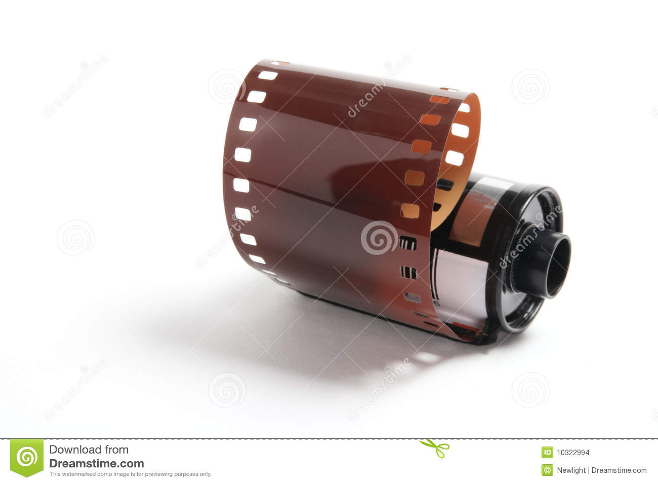 Roll Of Camera Film Stock Images - Image: 10322994