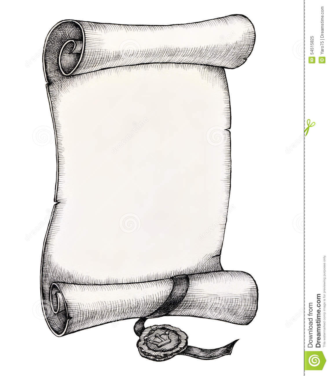 roll stock illustration illustration of letter drawing 54515825. Black Bedroom Furniture Sets. Home Design Ideas