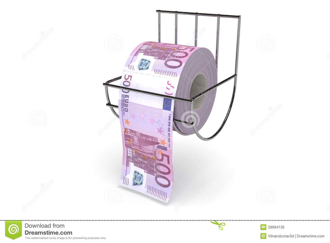 Roll of 500 euros bills stock image image of euro bring 29994135 - Toilet paper spindle ...