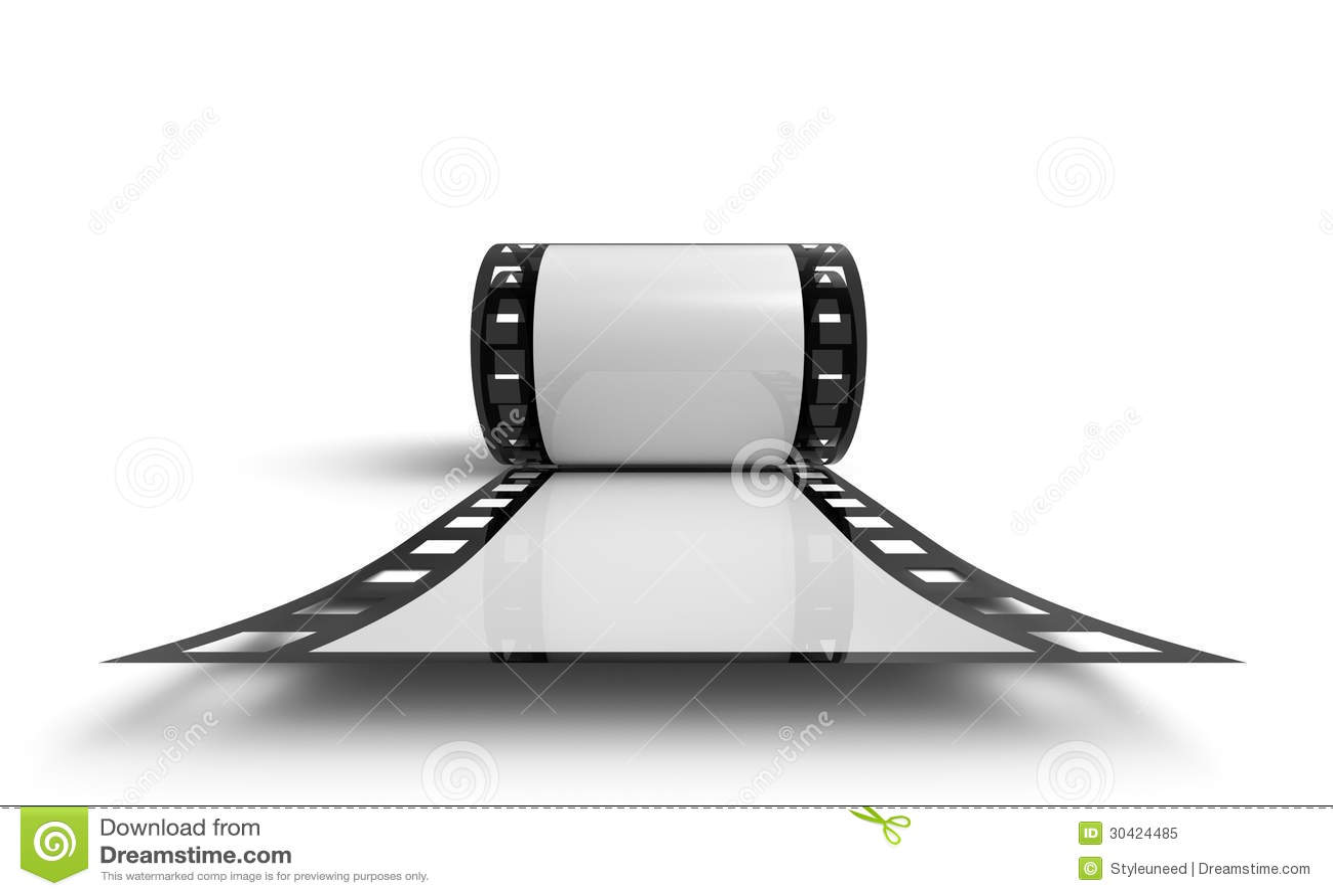 Roll of negative film