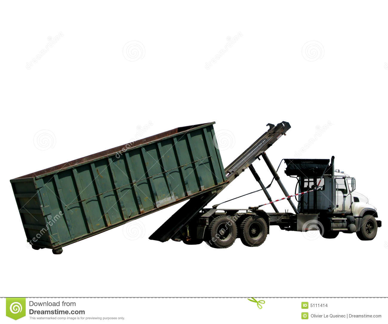 Roll Off Container Truck