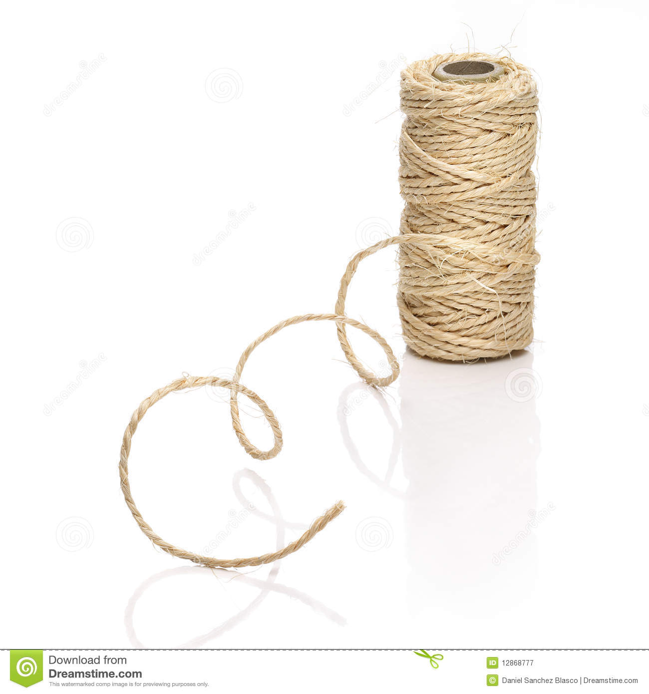 Roll Of Thick String Stock Image Image Of Studio Colour