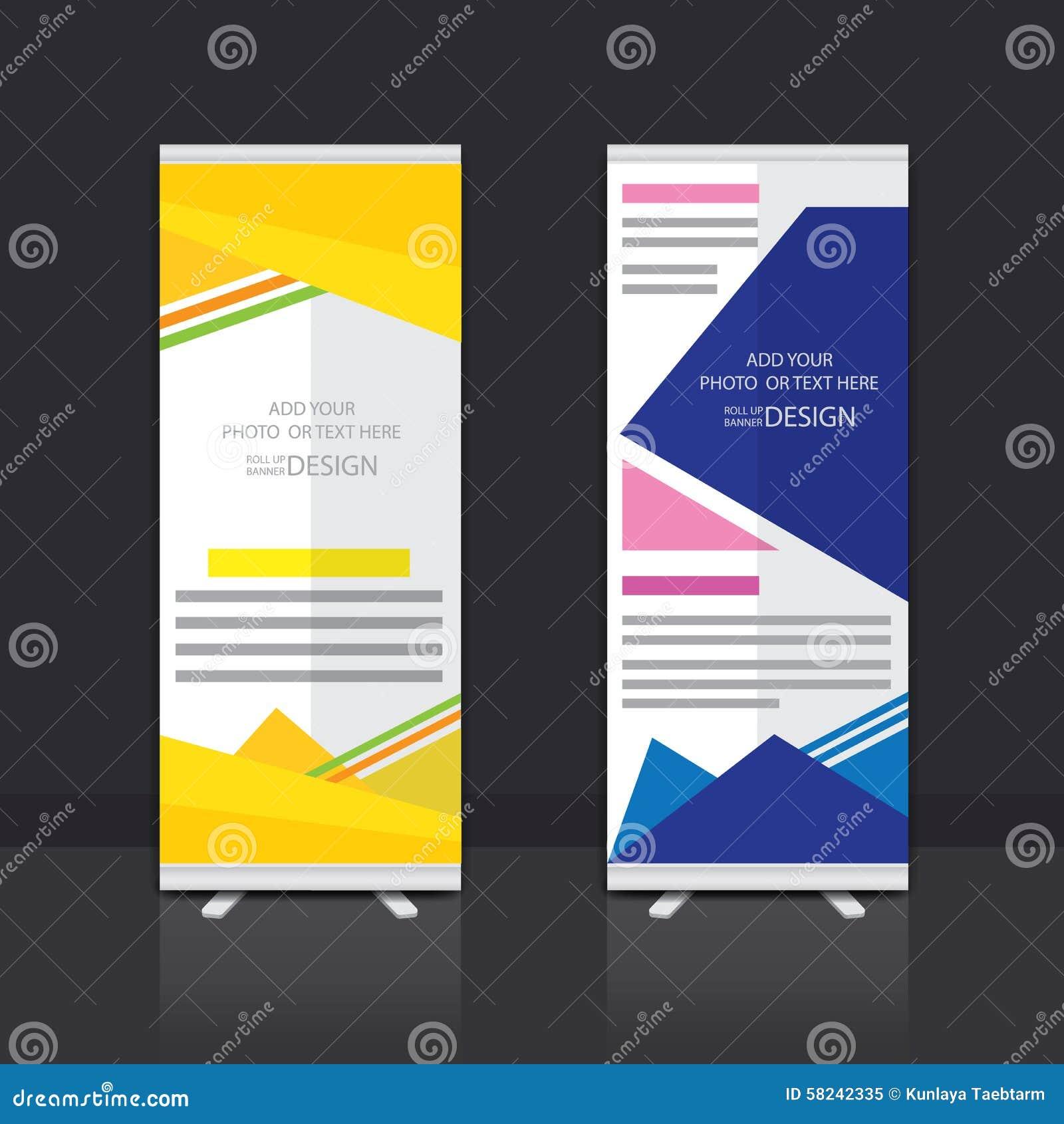 Design for roll up banner - Banner Design Roll