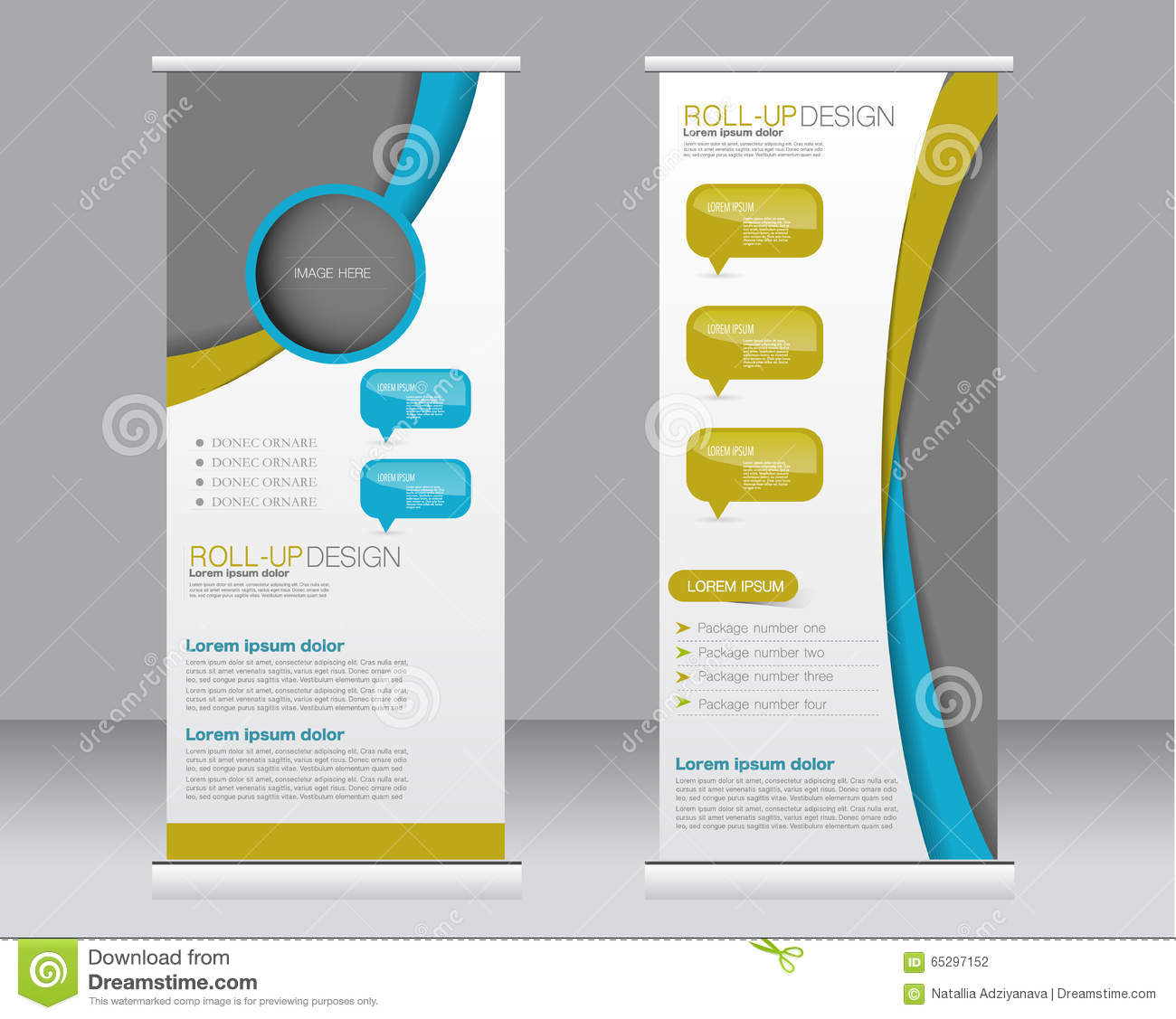 roll up banner stand template abstract background for. Black Bedroom Furniture Sets. Home Design Ideas