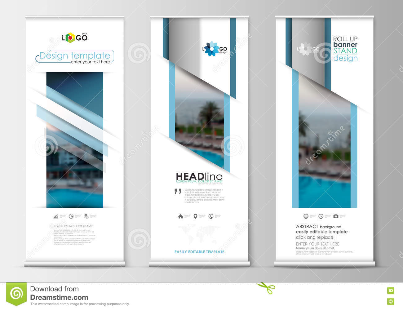 Roll up banner stands flat design abstract geometric templates download roll up banner stands flat design abstract geometric templates modern business layouts cheaphphosting Choice Image