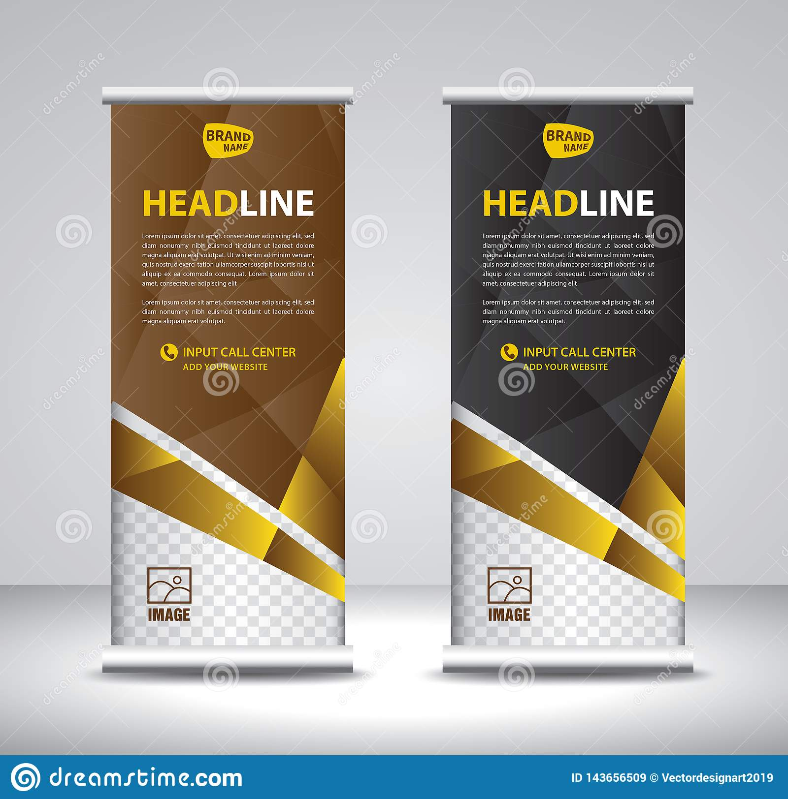 Exhibition Stand Poster Design : Roll up banner template vector banner stand exhibition design