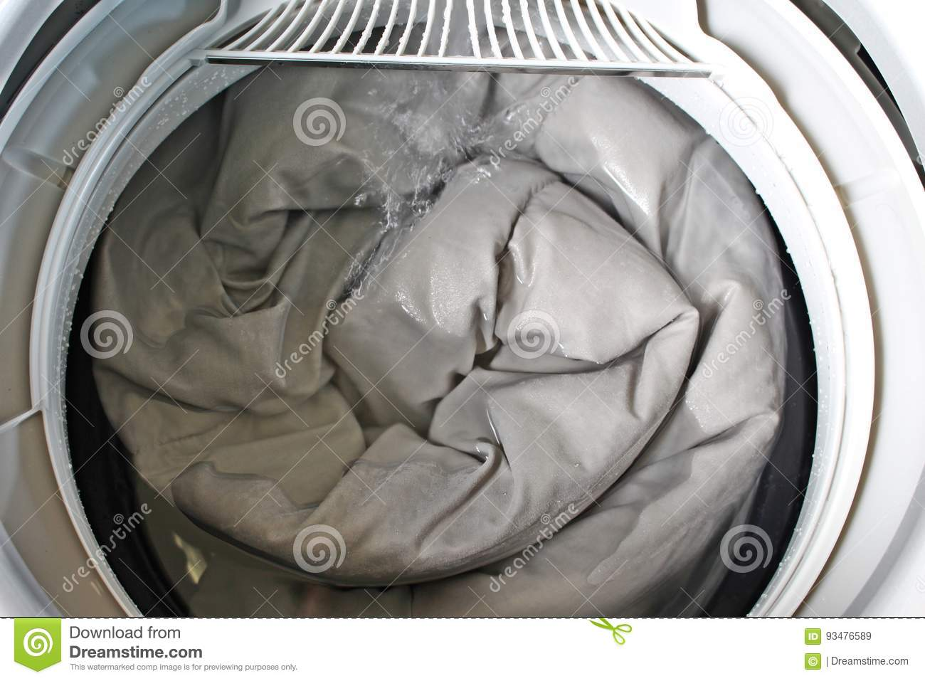 Roll Up The Duvet Stock Image Image Of Electronics Indicate