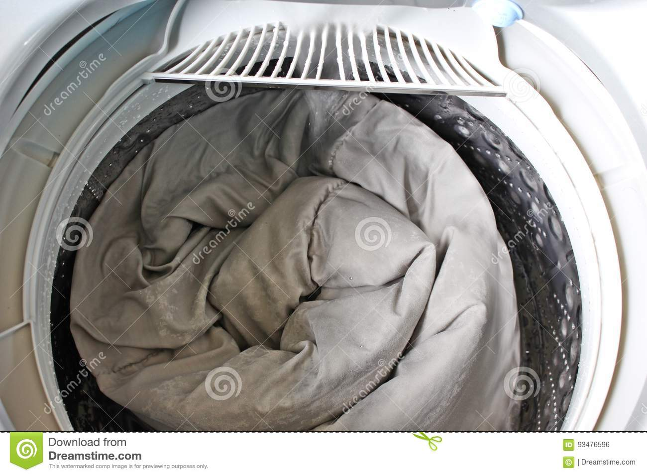 Roll Up The Duvet Stock Photo Image Of Cloth Eiderdown 93476596