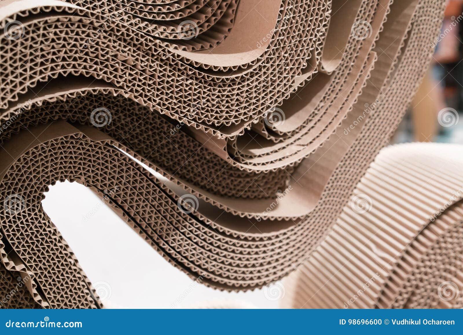 Roll of wavy craft paper folded in random stock photo image of roll of wavy craft paper folded in random jeuxipadfo Choice Image