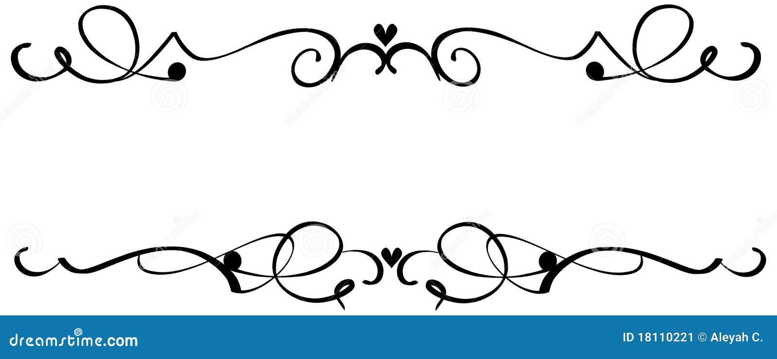 Line Art Design Kft : Rolle inner verzierungen vektor abbildung illustration
