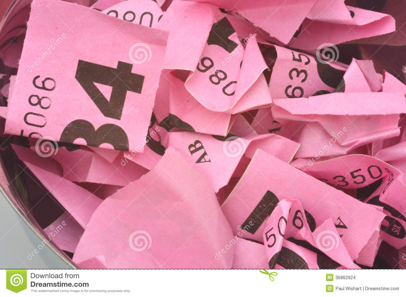rolled up raffle tickets stock images image  rolled up raffle tickets