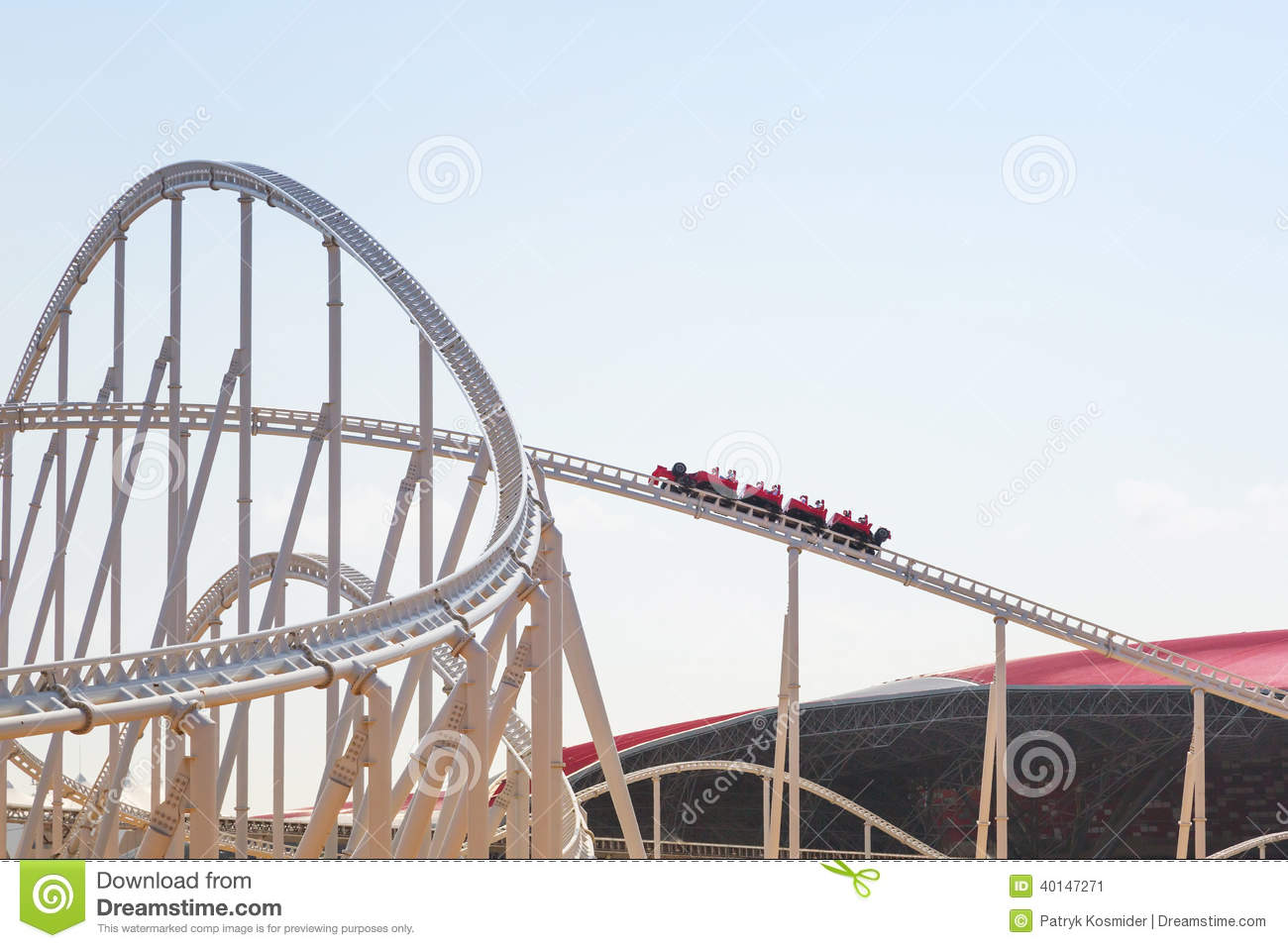 roller coaster at ferrari world in abu dhabi editorial photo image 40147271. Cars Review. Best American Auto & Cars Review