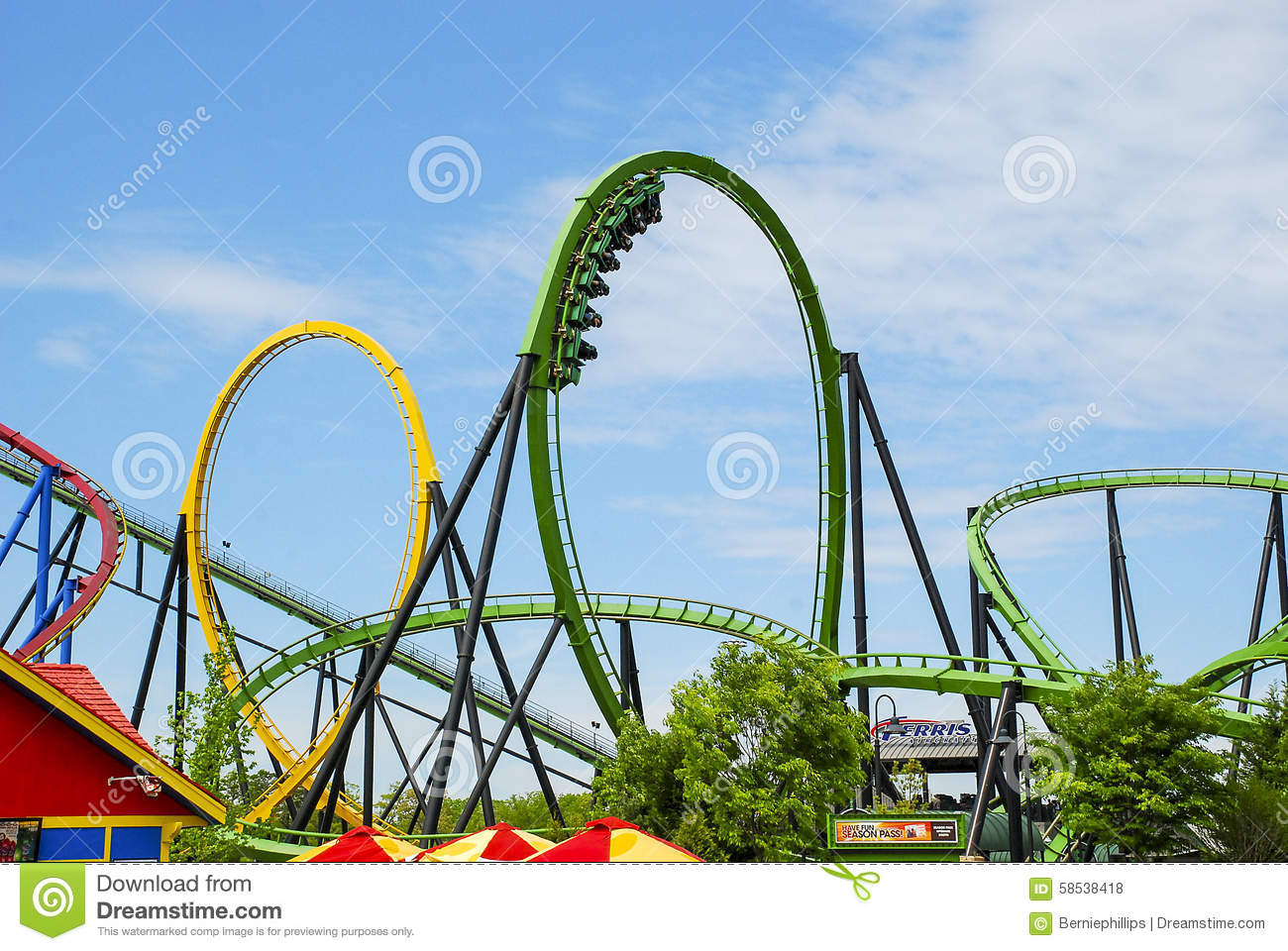 how to draw a roller coaster loop